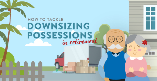 How To Tackle Downsizing Possessions In Retirement